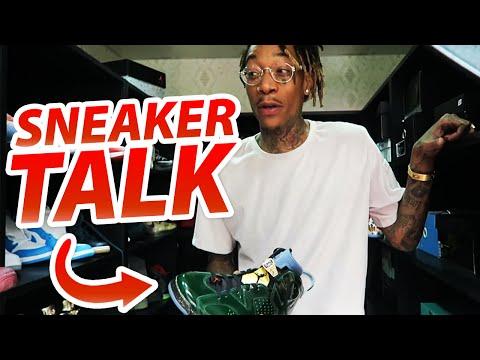 Sneaker Talk With Wiz Khalifa