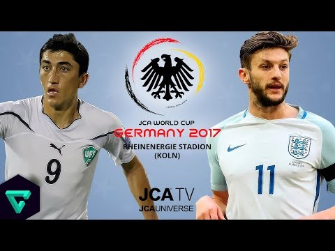 Uzbekistan vs. England | Group B | 2017 JCA World Cup Germany | ⚽ PES 2017 ⚽