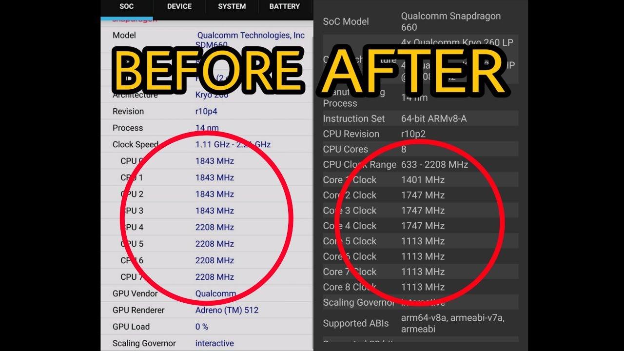 Cara Fix Bug Fingerprint Xiaomi Mi A2 Max Cpu Clock Baterai Boros