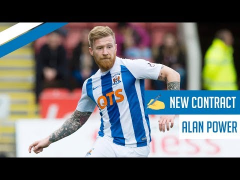 Alan Power on his extended Kilmarnock contract