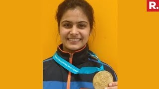Manu Bhaker Wins Gold In Women's 10m Air Pistol