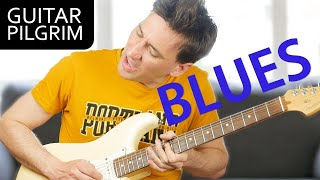 5 COOL TIPS For Playing BLUES GUITAR!