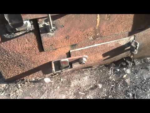 Печка для бани из трубы диаметром 426