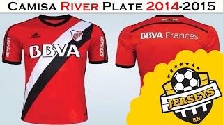 Unboxing  04 River Plate Away 2014-2015 - AliExpres ... c8887625ce19d