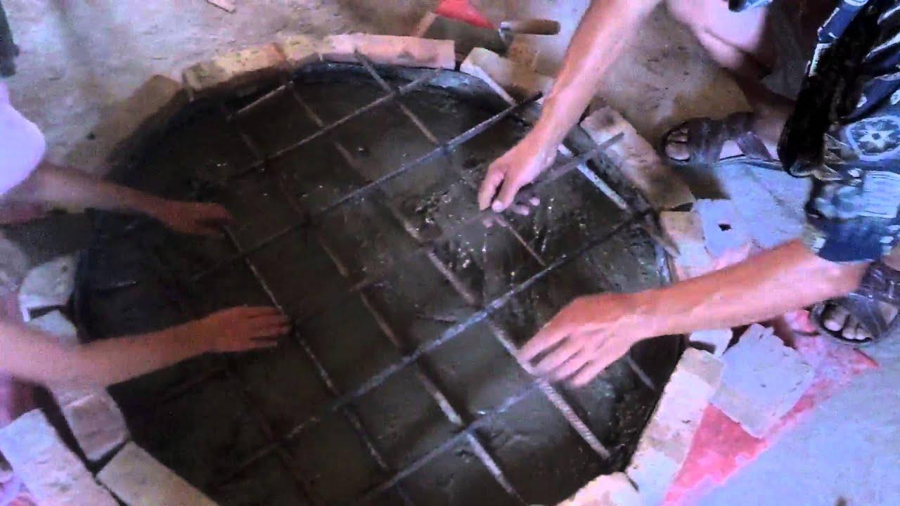 Крышка канализации своими руками
