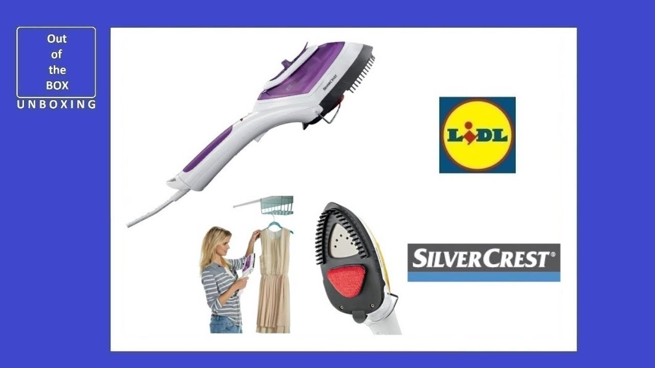 SILVER CREST STEAM BRUSH With Non Stick Coated Base.