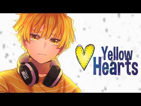 nightcore---yellow-hearts---ant-saunders-(lyrics)