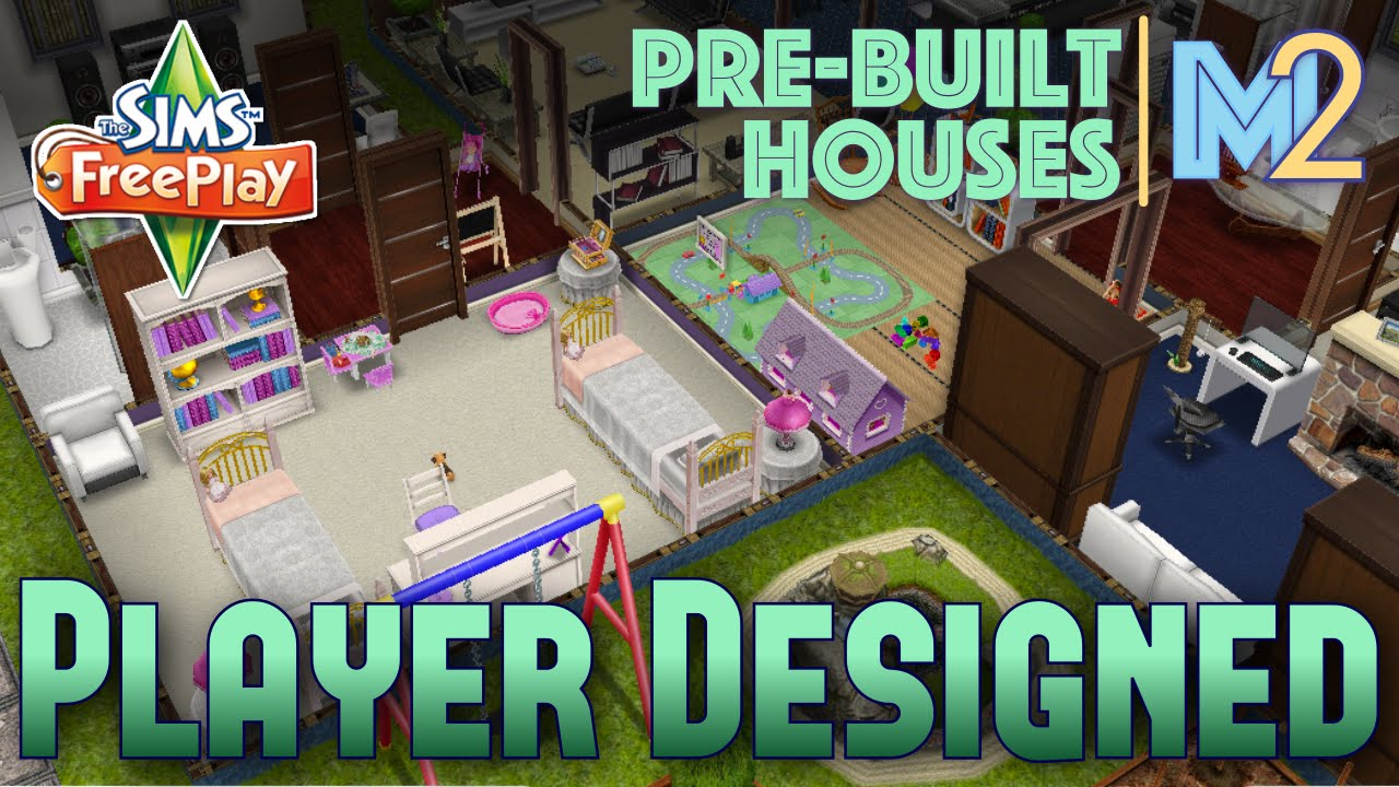 Sims Freeplay Player Designed House On Premium Ocean Lot Review Walkthrough Youtube