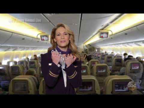 Jimmy Kimmel creates HILARIOUS parody of United Airlines incident