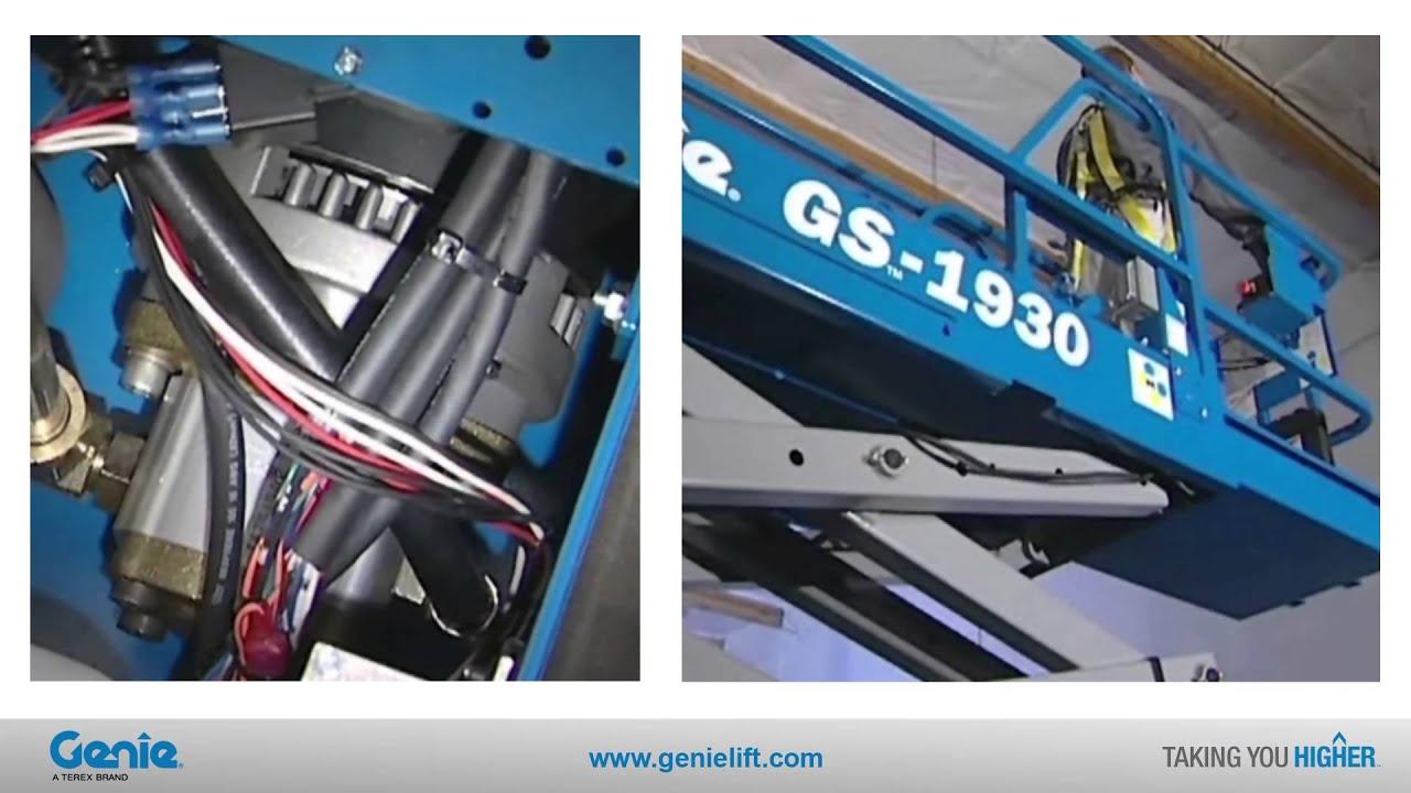 Genie GS1932 Electric Scissor Lift - Workplatform