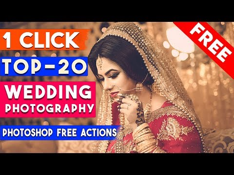 TOP-20 Professional 1 Click Automatic Wedding Photography Effects
