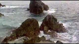 مشهد مؤثر من شواطئ ايطاليا
