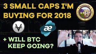 Bitcoin Surges Back! 3 Small Caps I'm Buying For 2018, Merrill Lynch, Coinbase - CMTV 118