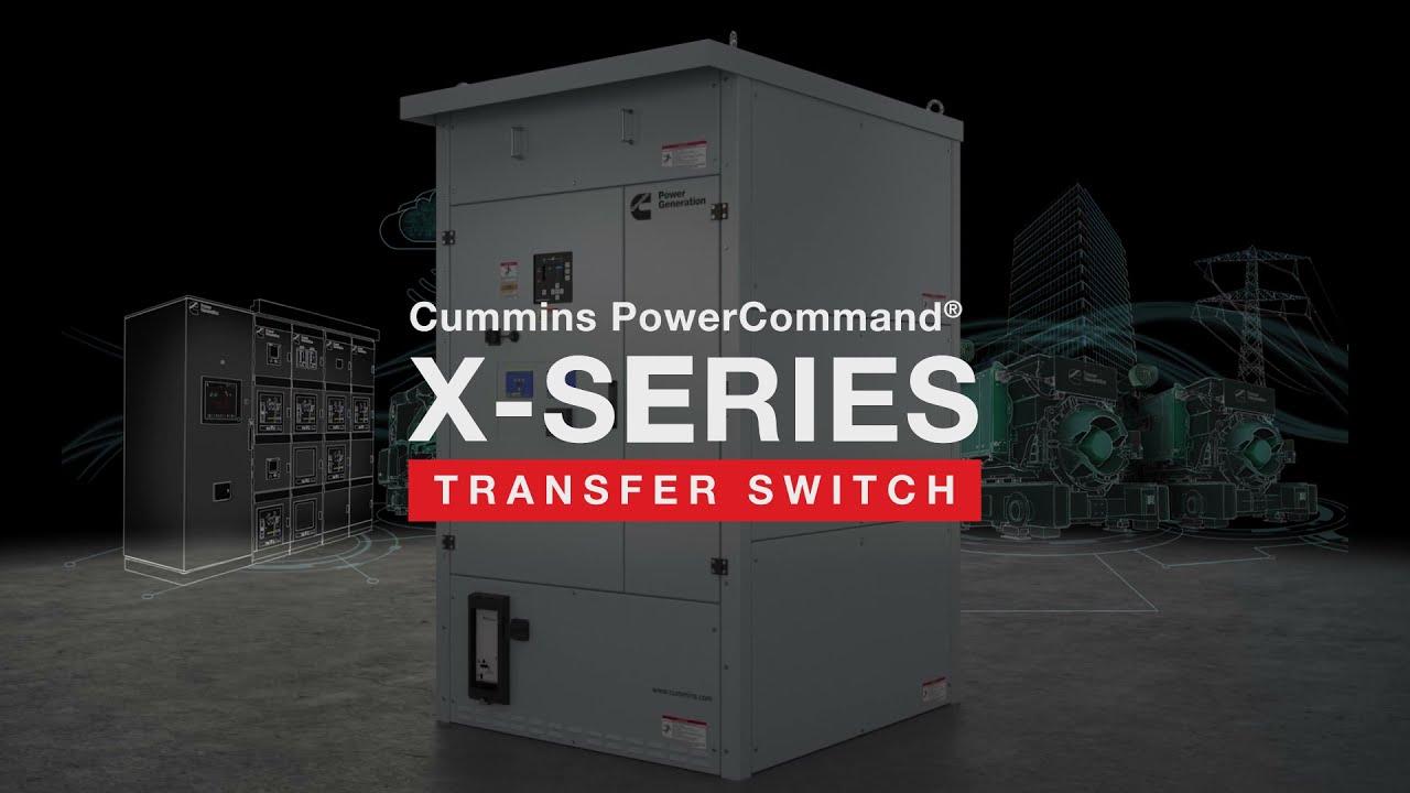 PowerCommand® X-Series Transfer Switch