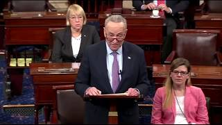 Chuck Schumer BRILLIANTLY Crushes Trump for his Bizarre 'Bigger Nuclear Button' Tweet