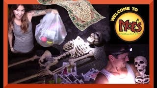 Skeletons in the DUMPSTER/ MAGIC CARPET ADVENTURE! ...Come RIDE!