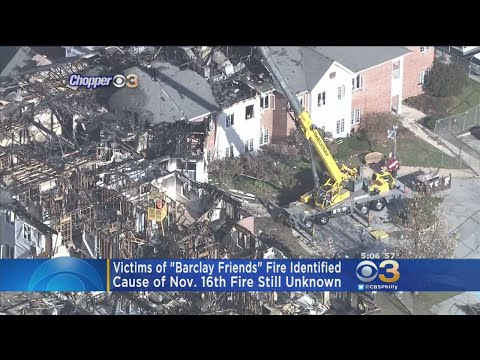 Officials Release Names Of 4 Victims Who Died In Fire At West Chester Senior Living Facility