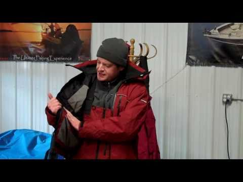 How To Dress For Ice Fishing Featuring Frabill