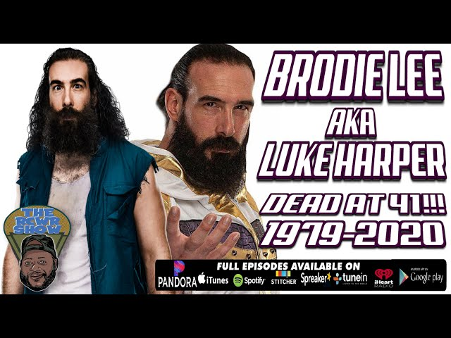 AEW\'s Brodie Lee Dead at 41 (FKA Luke Harper in WWE,  R/N Jon Huber) Due to Lung Condition 1979-2020