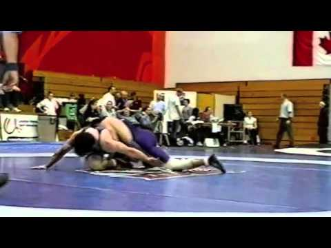 2004 CIS Championships: 72 kg Jamie Gillman vs. Paul Murphy
