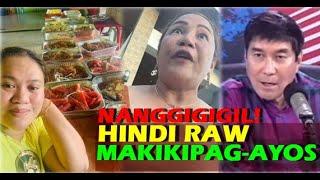 HINDI RAW MAKIKIPAG-AYOS SI MARIA MAY HOLFINA KAY MARJORIE ABASTAS Food Package Sa Cebu Raffy Tulfo