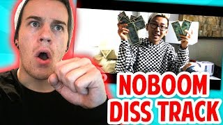 REACTING TO HYPER'S DISS TRACK AGAINST NOBOOM!! (Roblox Diss Track)