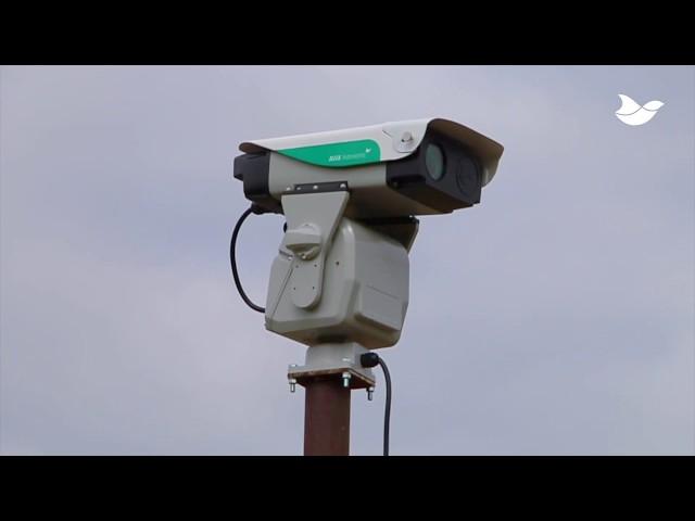 AVIX Autonomic Mark II. Robotic Laser Bird Repellent.