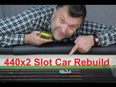 HO Slot Car Tear-down: 440×2 Edition (Finale)