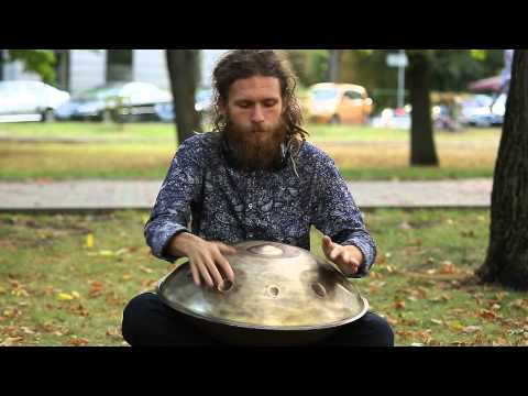 Pasha Aeon - New OMana Handpan, Sabye D major scale, 2015