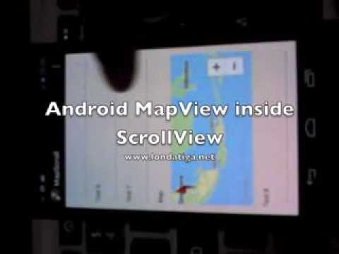 How to Make Android Map V2 Scrollable Inside a ScrollView Layout