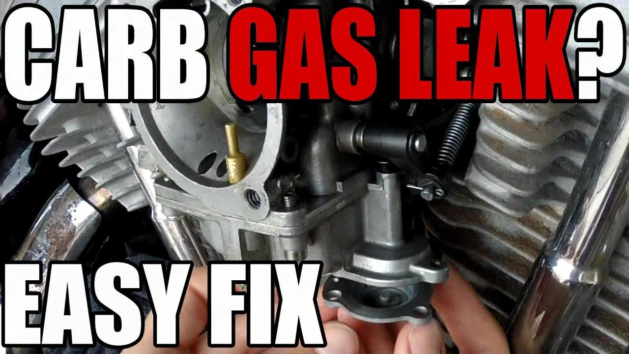 Carb Gas Leak - Harley POOPster - Accelerator Pump Diaphragm