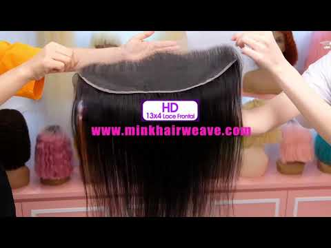 HD Lace Clousre Bundle Deals 10A Grade Mink Brazilian Hair ...