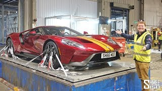 IT'S ALREADY HOME! Collecting My Ford GT in London