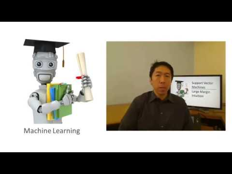 Lecture 12.2 — Support Vector Machines | Large Margin Intuition — [Machine Learning | Andrew Ng]