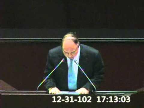 2013-12-31 蔣乃辛 發言片段, 第8屆第4會期第16次會議