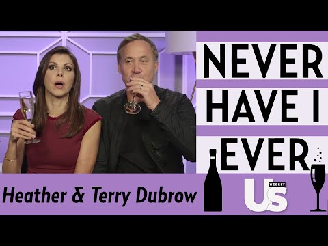 Whose a Fame Whore?! Heather and Terry Dubrow Duke it out in Never Have I Ever | Us Weekly