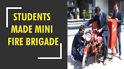 Nashik: These students of engineering college made mini fire brigade
