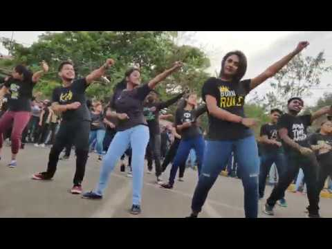 Flash mob By Utkal University Computer Science Students