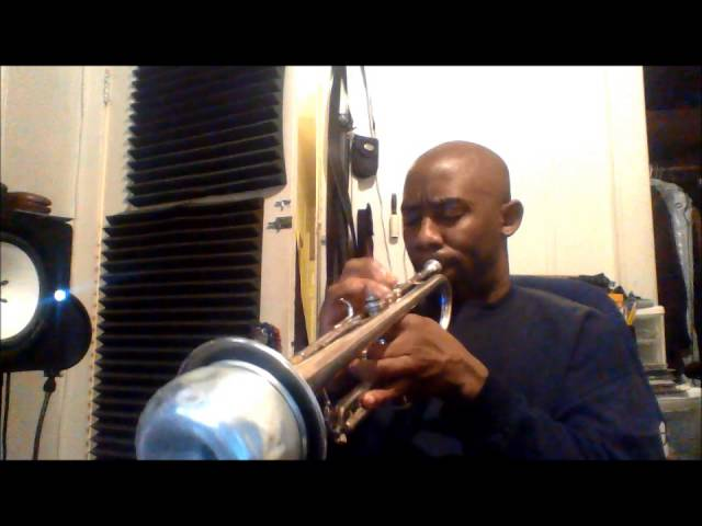 """Clinic Trumpet playing #1 (Old Jazz Standard called """"Invitation"""")"""