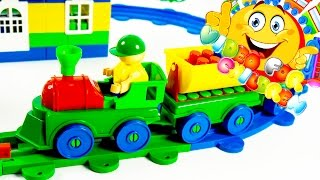 "Video For Children - ""railway"" Bauer Educational Toys Trains And Cars For Toddlers"