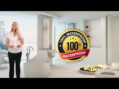 100% Waterproof Bathroom Vanities by Ross's Discount Home Centre