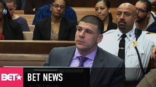 Aaron Hernandez's Fiancée Sues NFL And Patriots After Doctors Say He Had Severe Case Of CTE