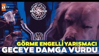 Görme Engelli Yarışmacı Mustafa Keskin Ve Köpeği Milyoner