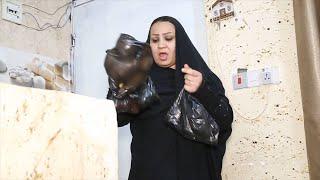 زوجتي ايناس راحت للسوك وحجيه محمد كتلتها شوفو شصار #كاظم_الشويلي