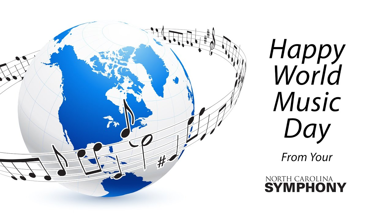 Celebrating World Music Day 2021 with the NC Symphony