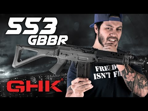 Could GHK 553 Be the BEST GBBR, EVER? (GHK 553 GBBR) - RedWolf Airsoft RWTV