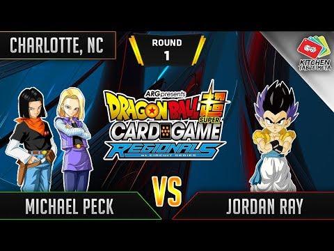 Dragon Ball Super Card Game Gameplay [DBS TCG] Charlotte Regional Round 1