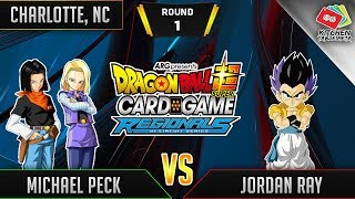 Dragon Ball Super Card Game Gameplay [DBS TCG] Charlotte Regional Round 1