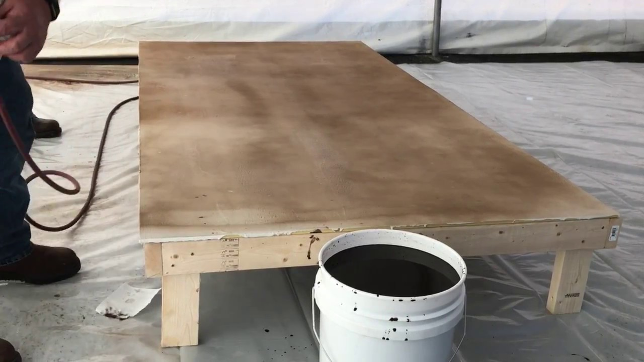 Concrete Stain How To Floor With Water Based