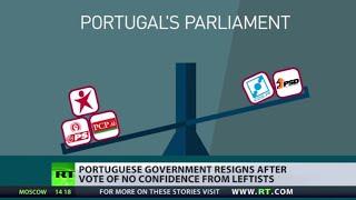 Portugal govt falls amid austerity backlash